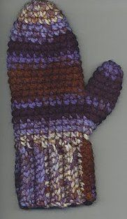 Easy Crochet Mittens Pattern - I've never made mittens so I should start with something simple. These look easy enough.