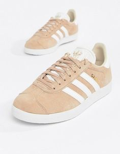 outlet store 96726 168e7 adidas Originals Gazelle Sneakers In Blush