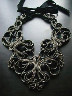 How beautiful a zipper can be!...