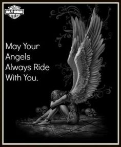 Daddy - when I buy you your harley, you'll be my angel when I ride. Biker Quotes, Motorcycle Quotes, Biker Sayings, Motorcycle Art, Motorcycle Tattoos, Motorcycle Wedding, Women Motorcycle, Shirt Quotes, Harley Bikes