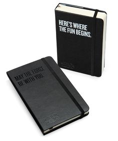 Limited Edition Star Wars Moleskine 2013 Planners