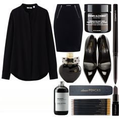 What to Wear With Black Pumps