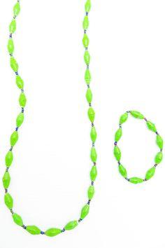 Lime green 2 pc set