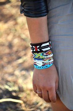 Bracelets et joncs en perles -Isabel Marant,Hipanema,Asos