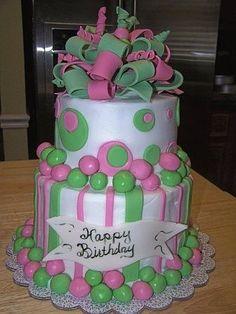 Aka Birthday Cake