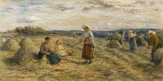 Haymaking  Hugh Cameron (1835–1918)  The Orchar Collection: Dundee Art Galleries and Museums (Dundee City Council)