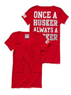 Love this! GO HUSKERS! I need this up here in SD -- love my Coyotes but my true allegiance is in the Big Red! :)