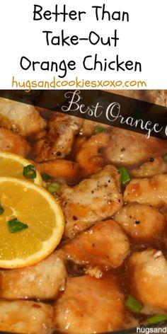 Best Orange Chicken