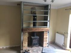 building a fireplace into an existing chimney | Cambridge Stove Installations: 100% Feedback, Chimney & Fireplace ...