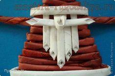 Мастер-класс по плетению из газет: Морозко