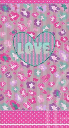 Image about cute in wallpaper by jennifer jordan Unicornios Wallpaper, Animal Print Wallpaper, Heart Wallpaper, Cellphone Wallpaper, Wallpaper Iphone Cute, Iphone Wallpapers, Victoria Secret Wallpaper, Love Backgrounds, Most Beautiful Wallpaper