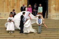 Here's a Peek Inside Windsor Castle During Royal Weddings Royal Wedding Gowns, Royal Weddings, Wedding Veils, Wedding Dresses, Princess Eugenie, Prince And Princess, Inside Windsor Castle, Princess Alexandra Of Denmark, Windsor Dresses