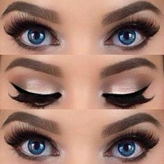 Get this look with Mary Kay cosmetics. Eyebrow pencil, eyeliner, mascara & eye shadow. Let me show you how. www.marykay.com/rdelavina Miami/Kendall area