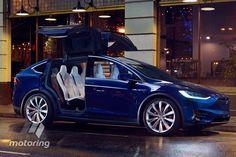 Tesla Model X 2016 Shotgun Review - motoring.com.au