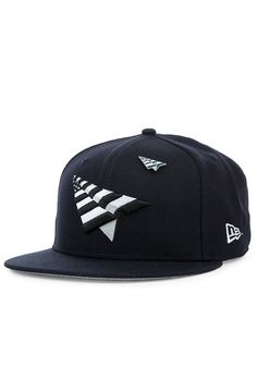 971de8b4d92 The PAPER PLANES New Era 9Fifty Crown Snapback in Navy Paper Planes