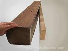 How to build a simple mantel fireplace shelves diy mantel and you can install faux wood and real wood fireplace mantel shelves yourself they are so lightweight and easy to handle solutioingenieria Images
