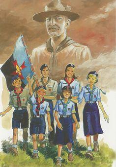 100 ans sur les traces de B .P 100 years boy scouts Boy Scouts, Scout Mom, Girl Scout Swap, Girl Scout Leader, Brownie Girl Scouts, Scout D Europe, Wood Badge, Les Religions, Girl Scout Crafts