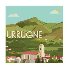 Illustration Urrugne au Pays-Basque