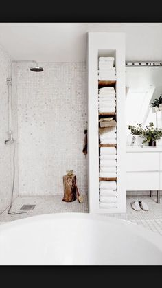 Mur på badet