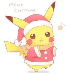 Merry Pokemon Christmas! - Pokémon Photo (27890443) - Fanpop #Pokemon #Pikachu #Christmas