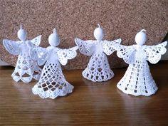 CZ - Crochet patterns - angels, bells etc.