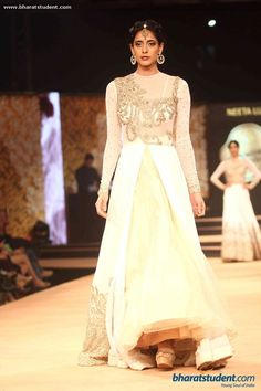 Anarkali by Neeta Lulla at Blenders Pride Fashion Tour 2014