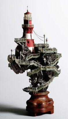 Light House by Tokio sculptor Takanori Aiba