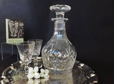 Crystal Sherry or Port Decanter in the Stuart Crystal