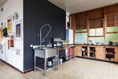 Belgian creative agency DIFT designed the interiors of Watt