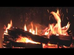 The Best Fireplace Video (3 hours long)  Cool! for a cold day or for snuggling at rest time. holiday parties, fireplac video