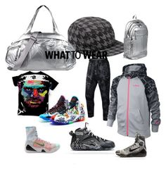 """""""what to wear"""" by outerego on Polyvore featuring Topman, NIKE, Lebron, Kobe and outerego"""