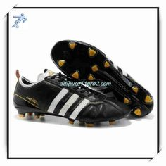 on sale 69ef1 d242c Football Shoes Games 11Pro 2 Adidas Adipure IV Trx FG Black White Gold