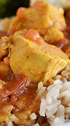 (Pressure Cooker or Stovetop) Chicken Coconut Curry