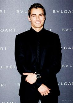 Dave at the Bulgari – Autumn/Winter 2014 Accessories Presentation on Friday (February 21) in Milan, Italy.