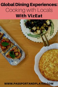 Want to find an amazing dining experience while traveling? Read my VizEat review and book a delicious food experience worldwide! | http://passportnadplates.com