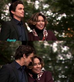 Diahann Carroll with Matt Bomer in White Collar. love them