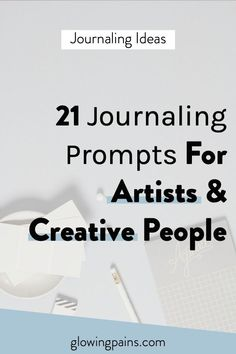 These 21 creative journal prompts are meant to be a source of reflection & help you work through any mental blocks you may have surrounding your creativity.
