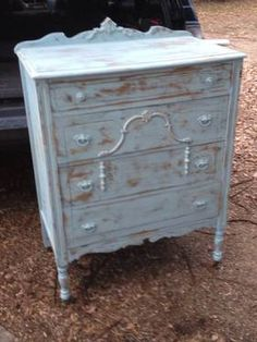 Antique Chest of Drawers Shabby Chic  						  						$245  						  						Lula B's  						1010 N. Riverfron Blvd.  						Dallas, TX 75207  						  						Dallas Vintage Market   						Booth 300