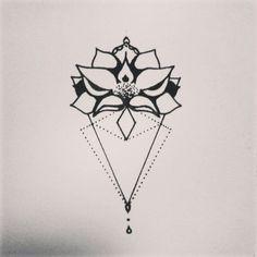 ...   Geometric Tattoos   Pinterest   Style Sternum tattoo and Diamonds