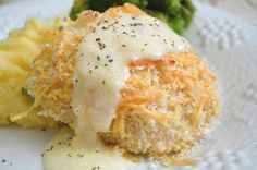 Crispy Crusted Chicken With Parmesan