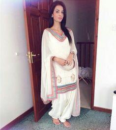 White Punjabi Suit