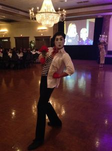corporate entertainment mime
