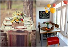 DIY - Do it yourself - Old doors re-use - DIY wooden furniture
