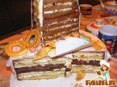 """Рецепт: Торт """"Мохито в шоколаде"""""""