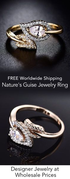 Persevering Goldring Ring 585 Gold 14 Karat Brillant Diamant Diamond Bague Or Oro Anello Other Fine Rings Fine Jewelry