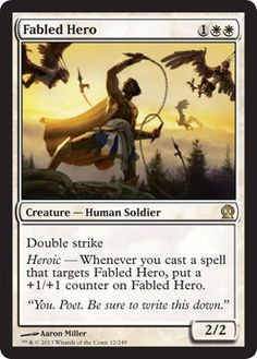 Magic: the Gathering - Fabled Hero
