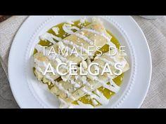 Tamales de acelgas con queso (fáciles de preparar)
