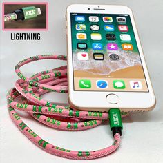 Greek Lyfe Cables change the way that you charge your mobile device and transfer data. Whether iPhone or Android, the designer Greek Lyfe cable delivers extraordinarily quick charging and information transfer through dynamic cabling technology. Aka Sorority Gifts, Alpha Kappa Alpha Sorority, Sorority Canvas, Sorority Paddles, Sorority Crafts, Sorority Life, Sorority Recruitment, Delta Gamma, Sorority Girl Style