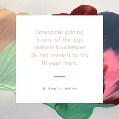 Avoiding emotional pricing begins by being confident in the prices you charge. Knowing why you charge what you do is the first step in educating your clients. A huge part of being a great salesperson (which as an entrepreneur you have to find a way to be) is educating the client. Did you just cringe when I said salesperson? Let me explain. Sales isnt necessarily about selling. Its about finding the need and providing the solution. The solution is what needs to be communicated to your client…