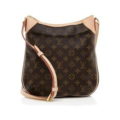 Rental Louis Vuitton Monogram Canvas Odeon PM Shoulder Bag ($150) ❤ liked on Polyvore featuring bags, handbags, shoulder bags, brown, crossbody shoulder bags, louis vuitton handbags, over the shoulder bag, brown shoulder bag and brown crossbody